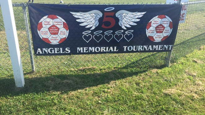 The fifth annual 5 Angels Memorial Tournament began Saturday at Utz Soccer Fields in Hanover.