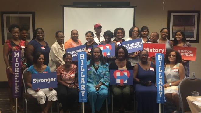 Westchester Women of Color for Hillary is discussing ideas on how to tap into the millennial electorate.