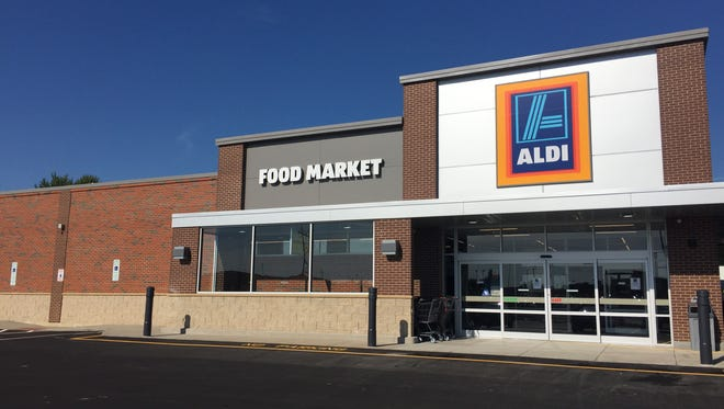 Aldi opened Aug. 18, 2016, at  5105 E. Arrowhead Parkway.