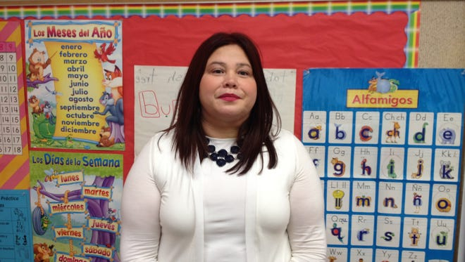 Sara Mercado enjoys helping children be all they can be.