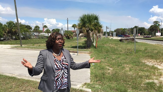 Purvette Bryant said she believes a convenience store will further shut off residents on the west side of the railroad track