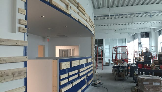 The new KSFY newsroom is scheduled to be done in November.