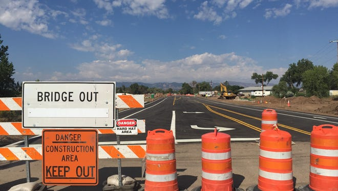 East Prospect Road will open 3:30 p.m. Friday after being closed for nearly three months due to bridge work.