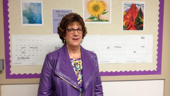 Salinas native Loretta Bernasconi has taught English at both North Salinas and Salinas high schools.