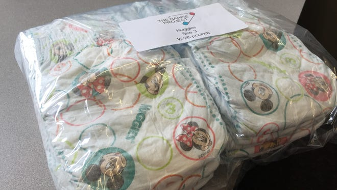 The Nappie Project, a nonprofit diaper bank in Northern Colorado, offers people in need packs of 12 diapers through area nonprofit partners.