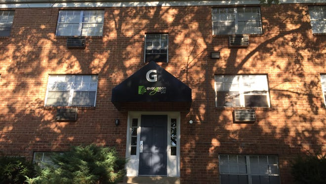 Building G of Evergreen Apartments at Riverfront Heights was the site of four deaths attributed to carbon monoxide poisoning earlier this year. The apartment owners are facing a smattering of lawsuits.