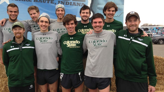 The CSU men's cross-country team begins the season ranked No. 25.