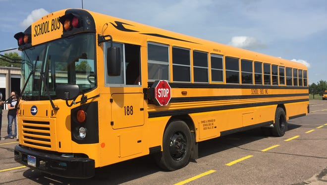 School Bus, Inc. used a $500,000 grant to purchase new buses with the latest emissions technology.