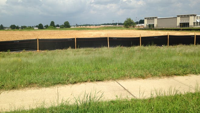 A 14,000-square-foot retail center will be built at this location.