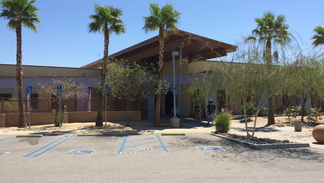 An Indio man is accused of threatening an employee at the Palm Springs Family Care Center. He was armed with a fake handgun, police said.