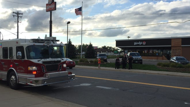 The Wendy's in the 10 block of U.S. Highway 10 in St. Cloud was evacuated Tuesday evening after a bomb threat was called in.