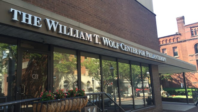 The William T. Wolf Center for Philanthropy was named after Bill Wolf, who died on Friday at the age of 95.