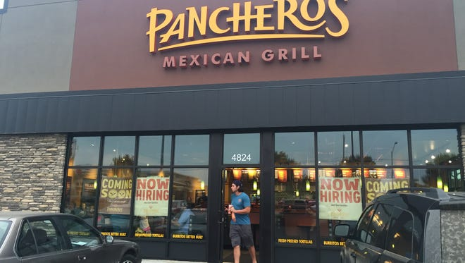 Pancheros has opened at 4824 S. Louise Ave.
