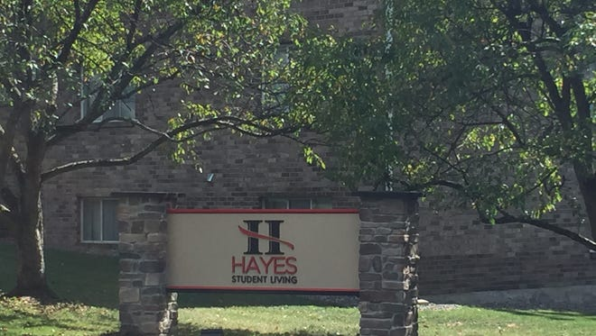 Hayes Student Living is an apartment complex just east of Binghamton University.