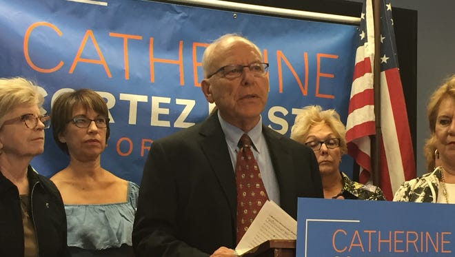 Richard Siegel, a professor emeritus from the University of Nevada, Reno, said Wednesday he appeared unwittingly in a super PAC commercial attacking Catherine Cortez Masto. Siegel said the super PAC should take down the commercial immediately.