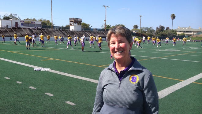 Salinas High School Athletic Director Patty Lamar also taught at San Benancio Middle School before moving to teach and coach at her alma mater.