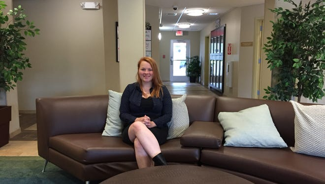 Anna Summers is the general manager of Candlewood Suites, at 3605 Vestal Parkway E. in Vestal.