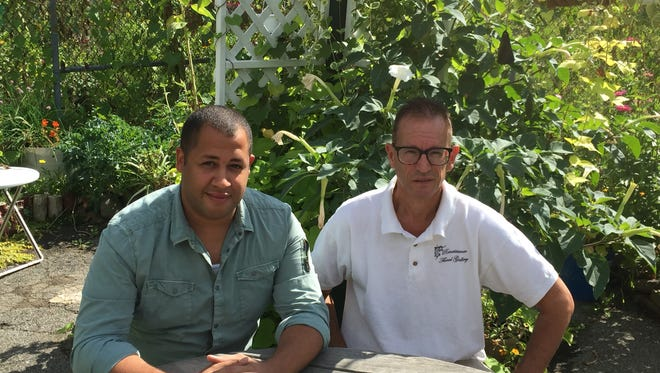 (left to right) David Beaman and Ken Havenstein are the owners of Renaissance Floral Gallery.