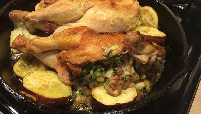 The roast chicken dish that will be served at 251 Lex in Mount Kisco, 273 Kitchen in Harrison and 8 North Broadway in Nyack.