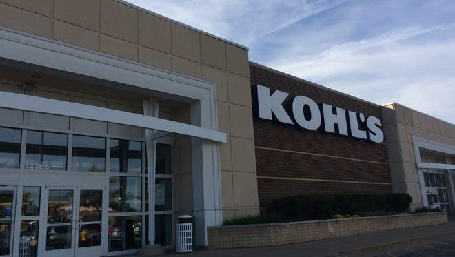 The Kohl's store at Harper Village in Battle Creek.