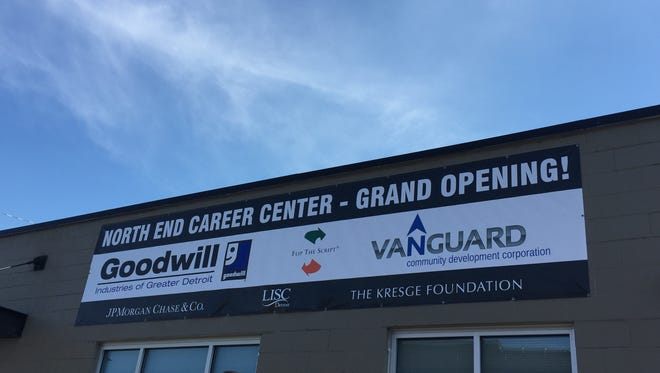 The new North End Career Center that opened Thursday Sept. 22, 2016 will serve up to 700 at-risk people a year.