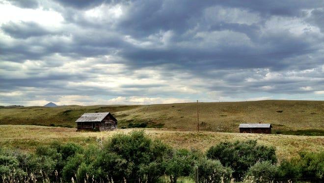 The Blackfeet Indian Reservation in Montana.