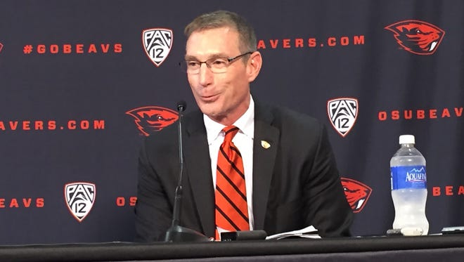 Todd Stansbury served as Oregon State's athletic director for 13 months.