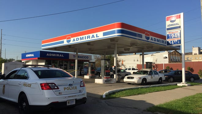 One person was stabbed Friday at the Admiral station, 1435 E. Washington St.