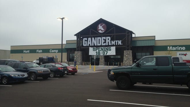 A newly-constructed Gander Mountain on Delta Market Drive will open to the public Oct. 7.