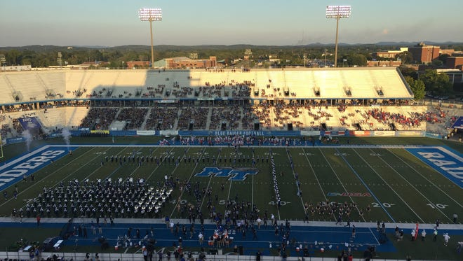 Louisiana Tech and Middle Tennessee square off in the Conference USA opener Saturday.