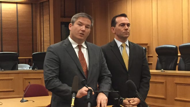 Sen. Jeff Yarbro and Rep. John Ray Clemmons, both Nashville Democrats, said Monday the time for playing politics is over while demanding answers from state officials after BlueCross BlueShield announced its decision to pull out of Nashville, Memphis and Knoxville.