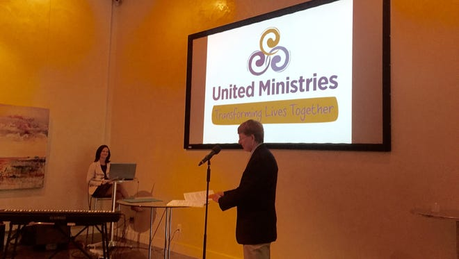 Tony McDade, executive director of United Ministries, talks about the organization's new logo and brand identity.