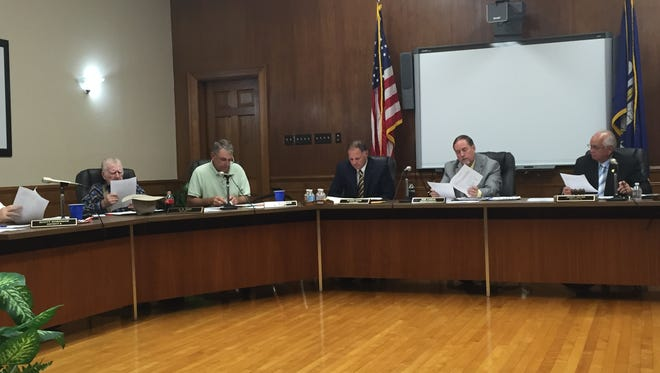 The Ouachita Parish School Board revoted on millage rates Tuesday.