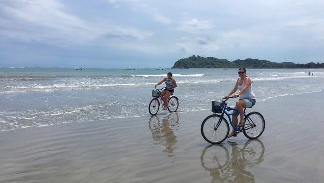 Writer Claudia Boyd-Barrett and her daughter Sofia stayed in a humble house on an unpaved dirt street, took cold showers and walked and biked everywhere during their four-week stay in the small Costa Rican town of Samara.
