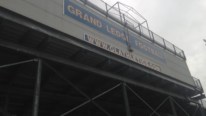 Community members have kicked off an effort to raise $750,000 to turf the Grand Ledge High School football field.