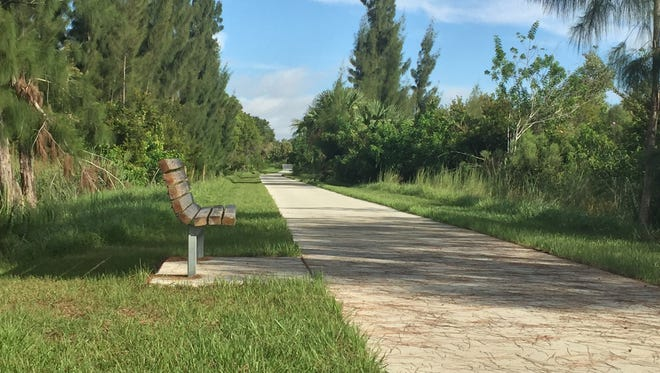 The City of Port St. Lucie announced the opening of the Savannas Recreation Trail.