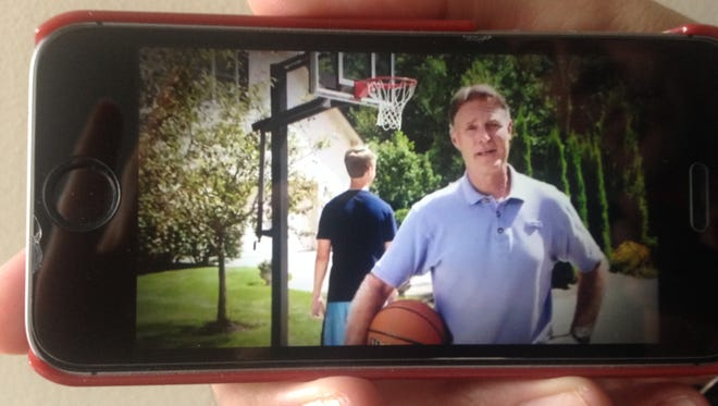 Former Sen. Evan Bayh says in a campaign ad that he is not a lobbyist.