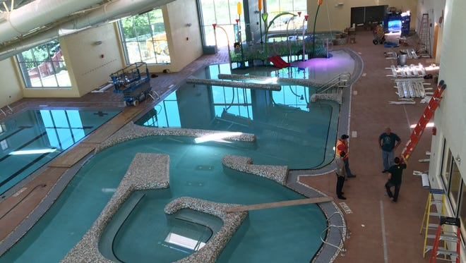 The Windsor Community Recreation Center's $16.1 million expansion includes a new indoor aquatics center with a pool, hot tub and slide.