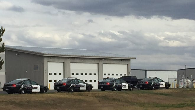 Emergency drill being conducted at Fort Collins-Loveland Municipal Airport on Tuesday.