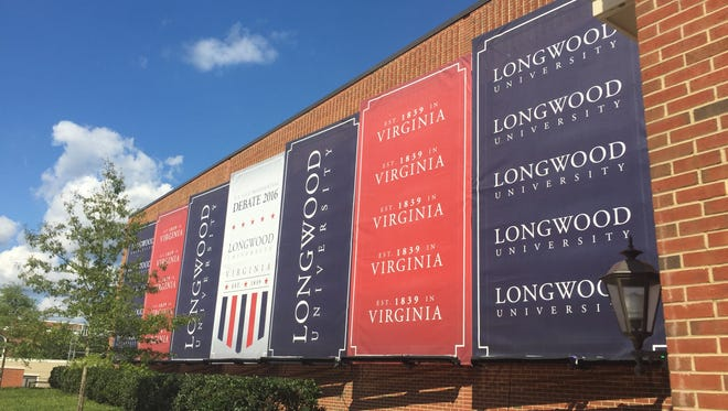 Longwood University is busy as the vice presidential debate approaches.