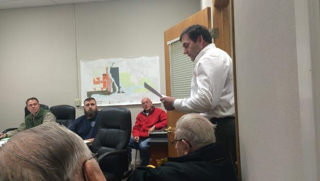Former Port Edwards Village Administrator Joe Terry filed a complaint regarding Village Board actions.