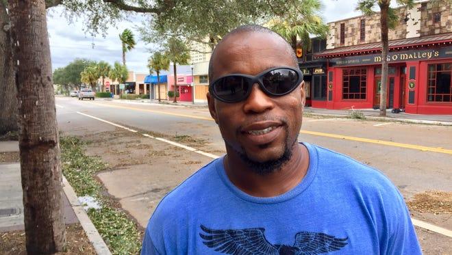Jawaun Broughton of Palm Bay.