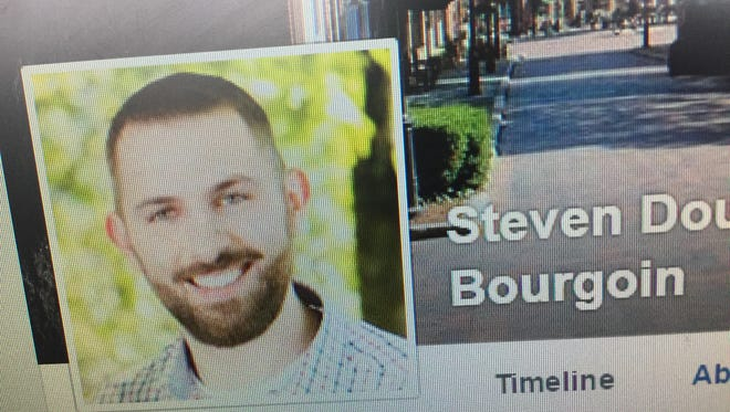 Vermont State Police confirmed this is Steven D. Bourgoin, 36, of Williston as shown by his Facebook page.