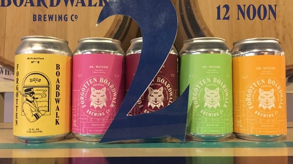 Four-packs of canned rare and limited releases are part of the fun as Forgotten Boardwalk turns 2.