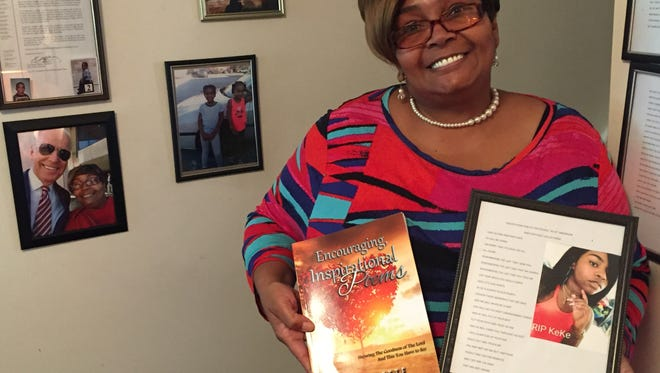Lynnette Shorts Kornegay has authored more than 20 poems since January for Wilmington families dealing with the loss of a loved one.