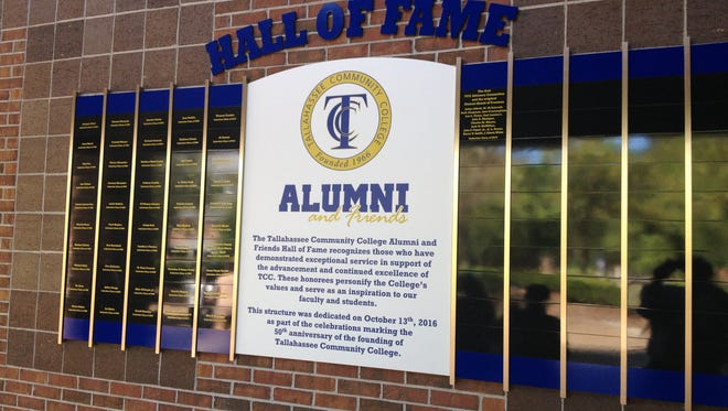 Tallahassee Community College Foundation unveiled its new Hall of Fame Thursday, adding 12 new members since 2006.
