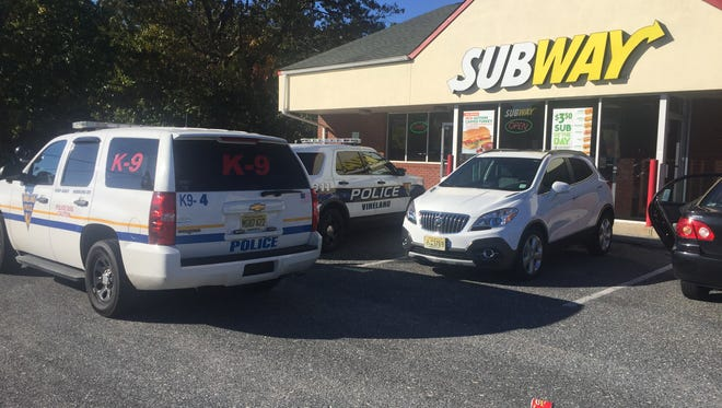 Vineland Police are investigating an armed robbery at the Subway restaurant at Delsea and College drives Friday morning.