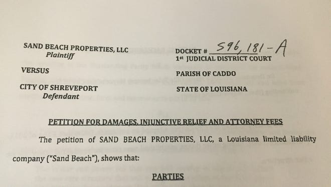 A lawsuit has been filed against the City of Shreveport in conjunction with a water rate billing error.
