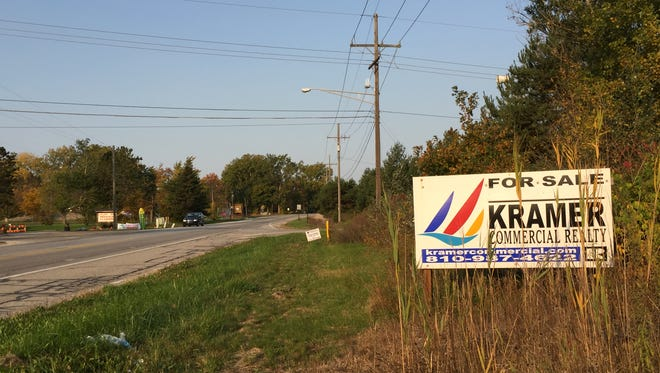 The St. Clair County Road Commission is in talks with property owners near Lapeer and Allen roads for easements for a roundabout.