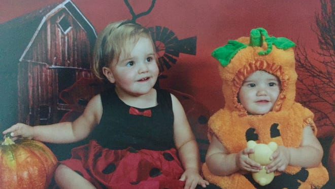 Before there was Hot Swat there were little girls as Lady Bugs and pumpkins.